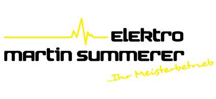 Elektromeister Martin Summerer
